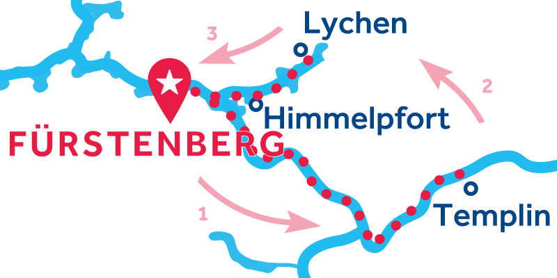 Fürstenberg ALLER-RETOUR via Templin