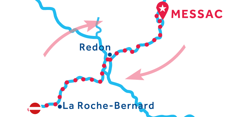 Messac RETURN via La Roche-Bernard