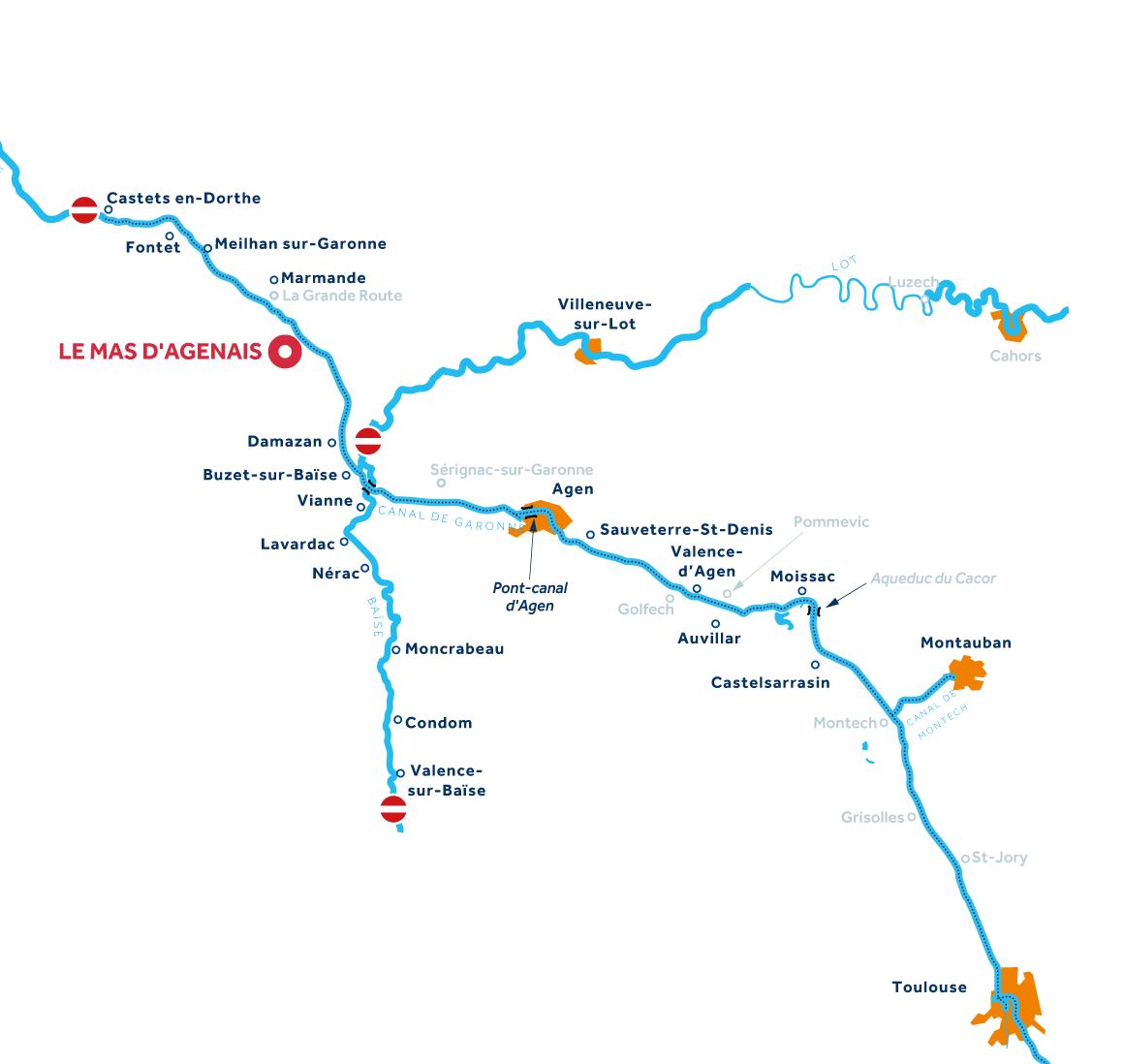 Carte: Aquitaine