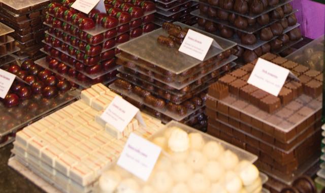 Belgien Schokolade