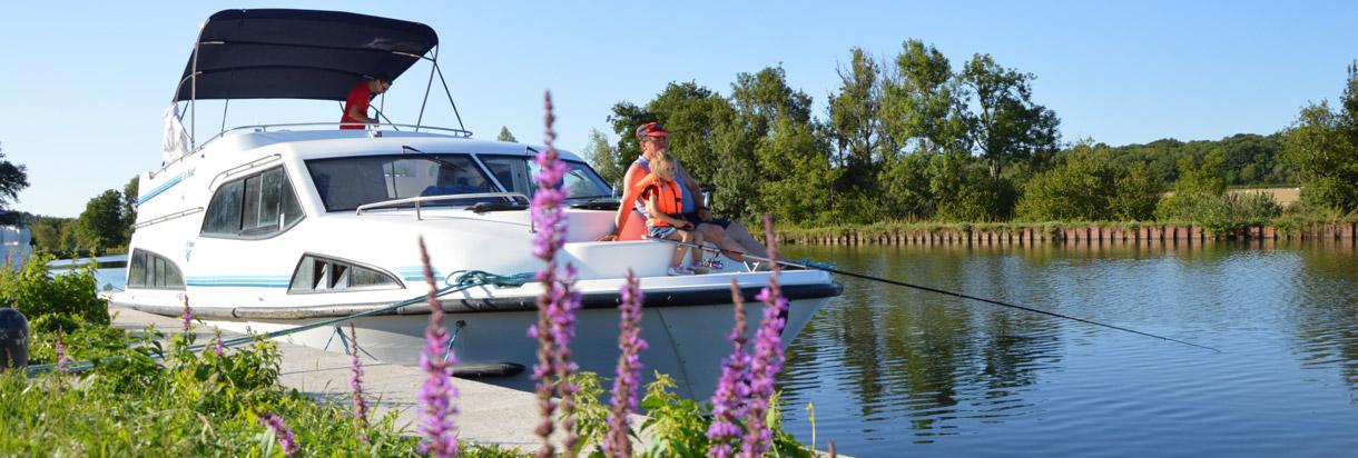 Verbringen Sie Ihren Angelurlaub auf einem Hausboot
