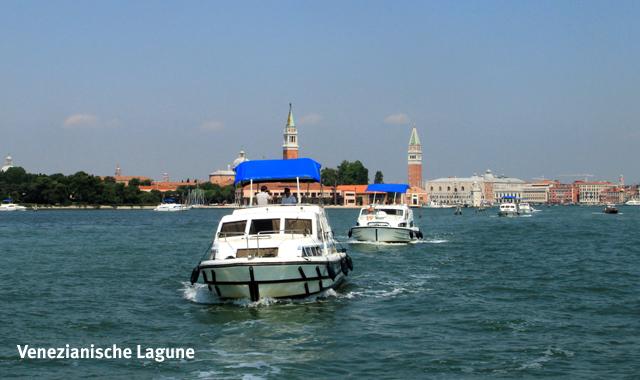 Hausbooturlaub in Venedig