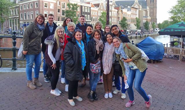 Amsterdam Gruppenbild