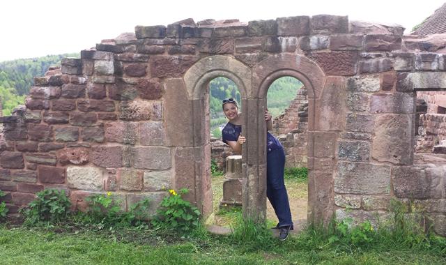 Ruinen der Lützelburg