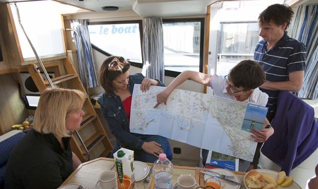Le Boat Routenvorschläge