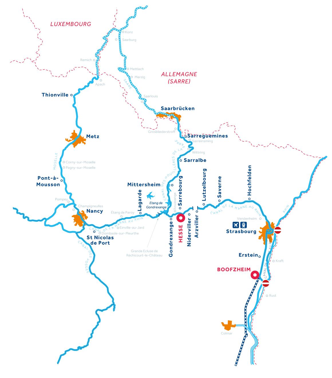 Carte: Alsace
