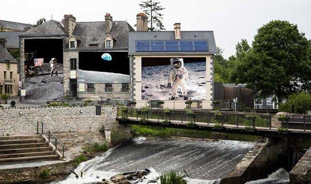 La Gacilly_Picture _Nase_astronaut