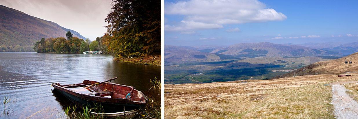 Wanderwege in den schottischen Highlands