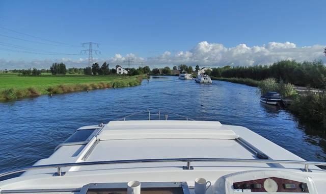 Zurück Richtung Vinkeveen