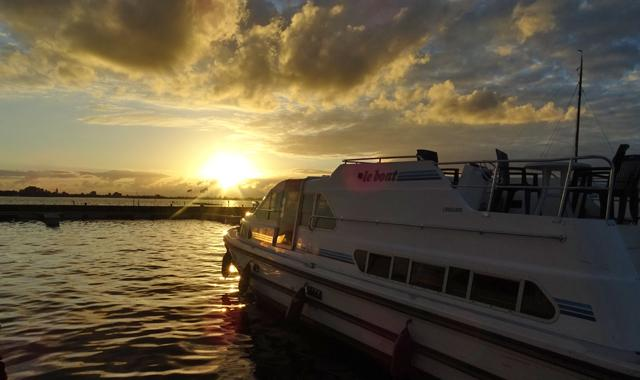 Sonnenuntergang in Vinkeveen