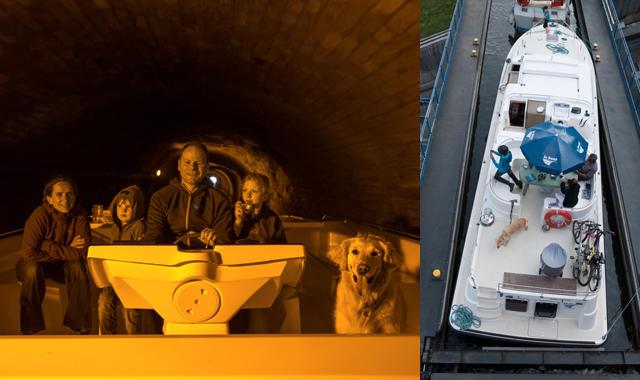 Hund an Bord Arzviller