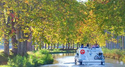 Croisière fluviale en automne