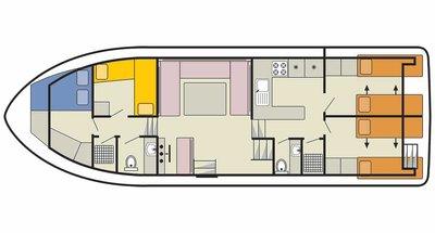 Deckplan der Classique