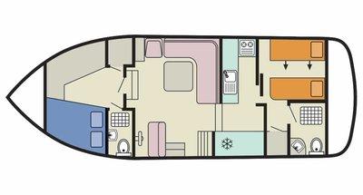 Plan de la Corvette A