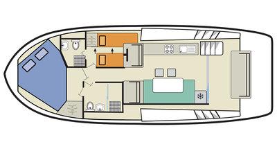 Deckplan der Horizon 2-S