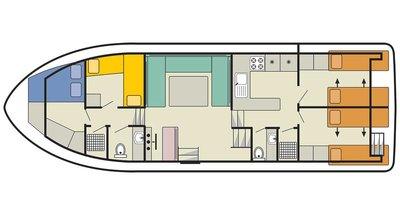 Deckplan der Nautilia