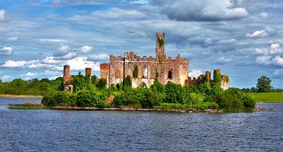 Château Lough Key sur le Lough Key