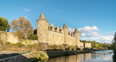 Château de Josselin en Bretagne