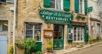 Restaurant français classique à Vézelay
