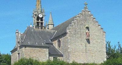 Église en pierres anciennes, Bretagne