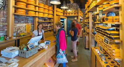 Boutique de fromage à Edam