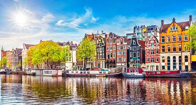 Maisons tradtionnelles à Amsterdam