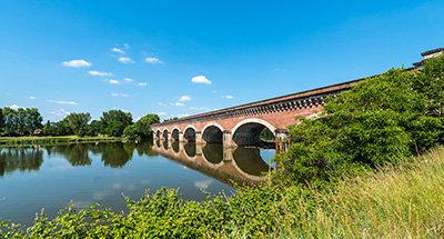 Pont-Canal du Cacor, Moissac