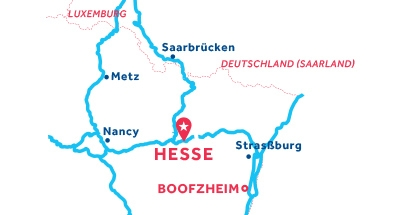 Hesse Hin-und Rückfahrt