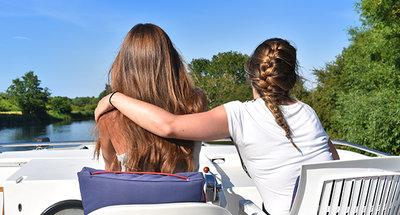 Vacances avec votre meilleure amie