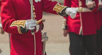 Soldat de la garde britannique