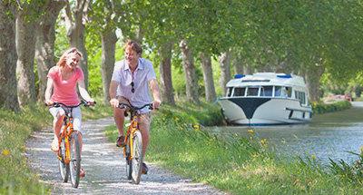 Balade à vélo le long du Canal du Midi