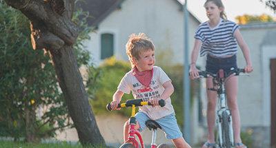 Radfahren in der Region Nivernais und Loire