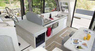 Salon des Hausbootes Horizon 3 von Le Boat