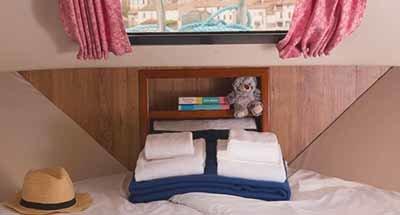 Kabinen & Badezimmer der Minuetto 6+