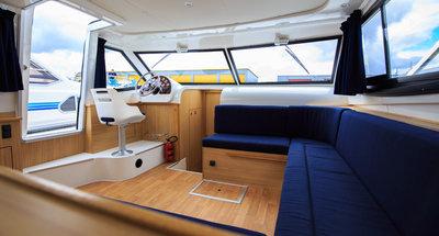 Salon des Hausbootes Mystique von Le Boat