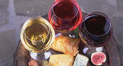 Vin et plat