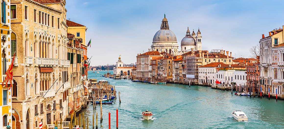 Le Grand Canal, Venise, Italie