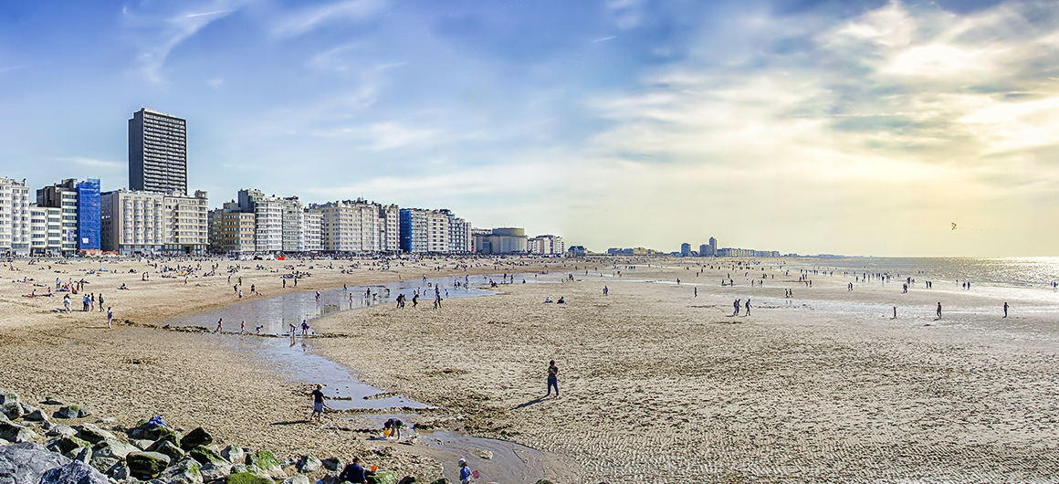 Strand in Oostende