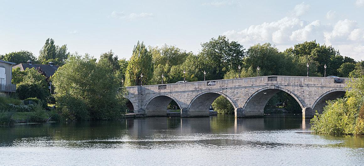 Pont près de Windsor, Tamise