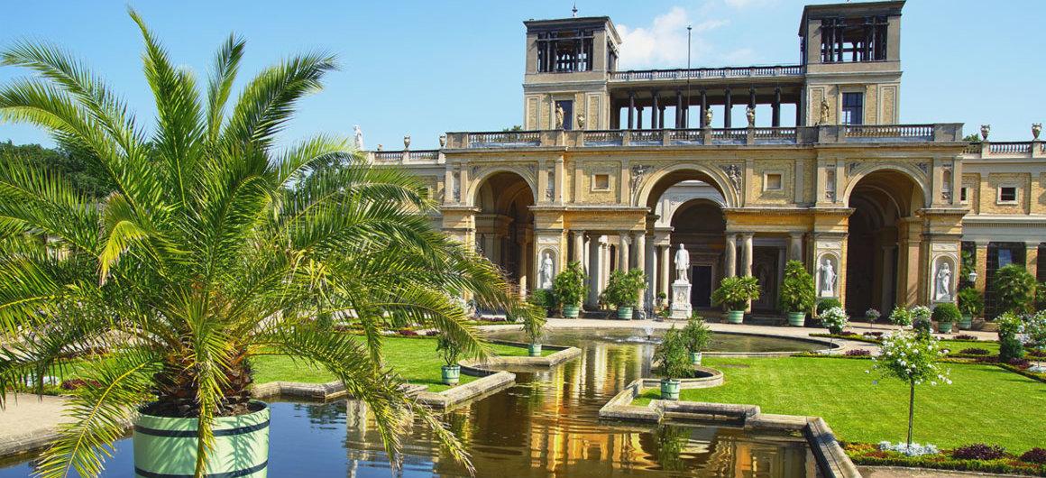 Palais rococo Sanssouci, Potsdam, Allemagne
