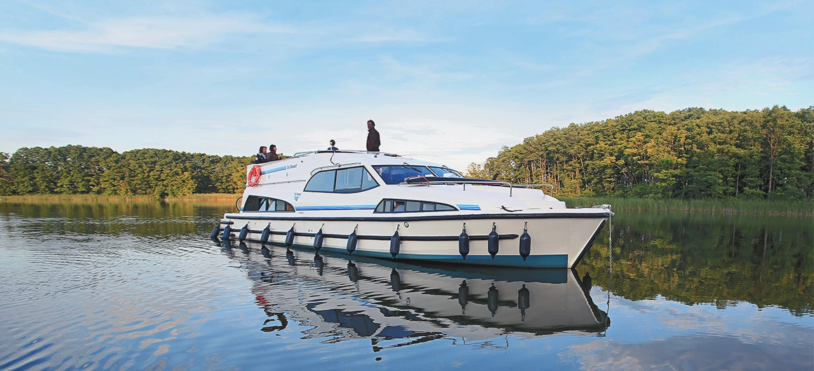 Royal Mystique sur le lac Müritz, Allemagne