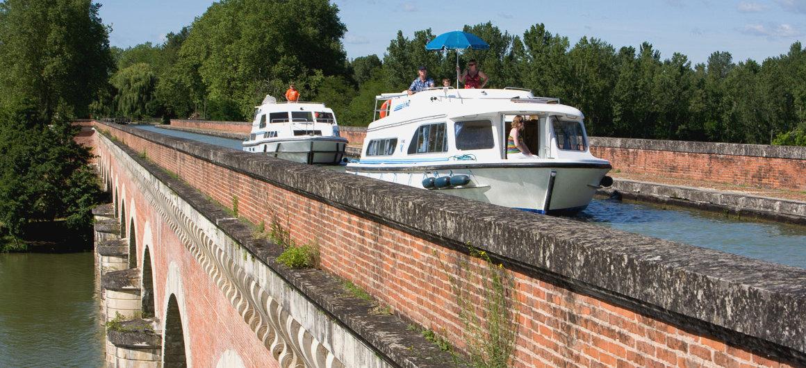 Pont-Canalde Cacor, près de Moissac, Aquitaine
