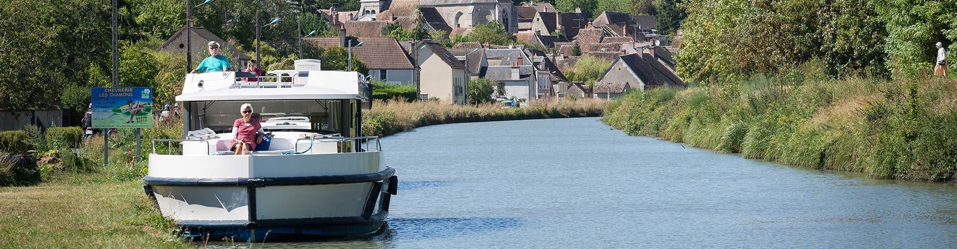 Croisière & Location Bateau sans permis Bourgogne