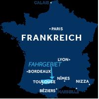 Karte zeigt, wo der Lot in Frankreich liegt
