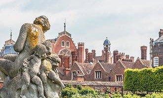Sculpture au Palais d'Hampton Court