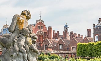 Sculpture au Palais d'Hampton Court