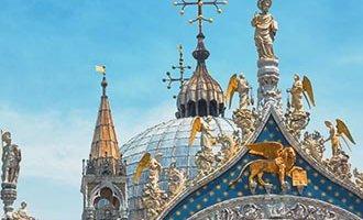 Lion de Saint-Marc sur la basilique Saint-Marc
